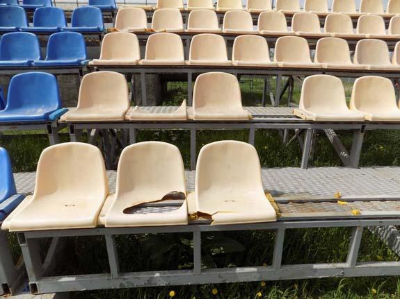 В Табаках начали уничтожают стадион за 8 миллионов