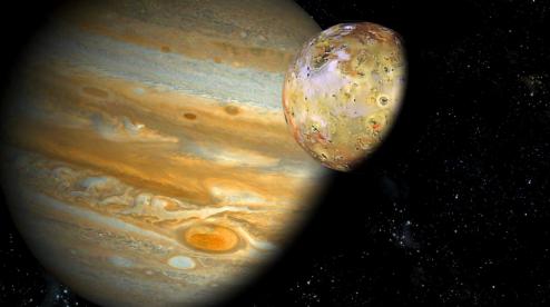 На спутнике Юпитера найден скрытый вулкан