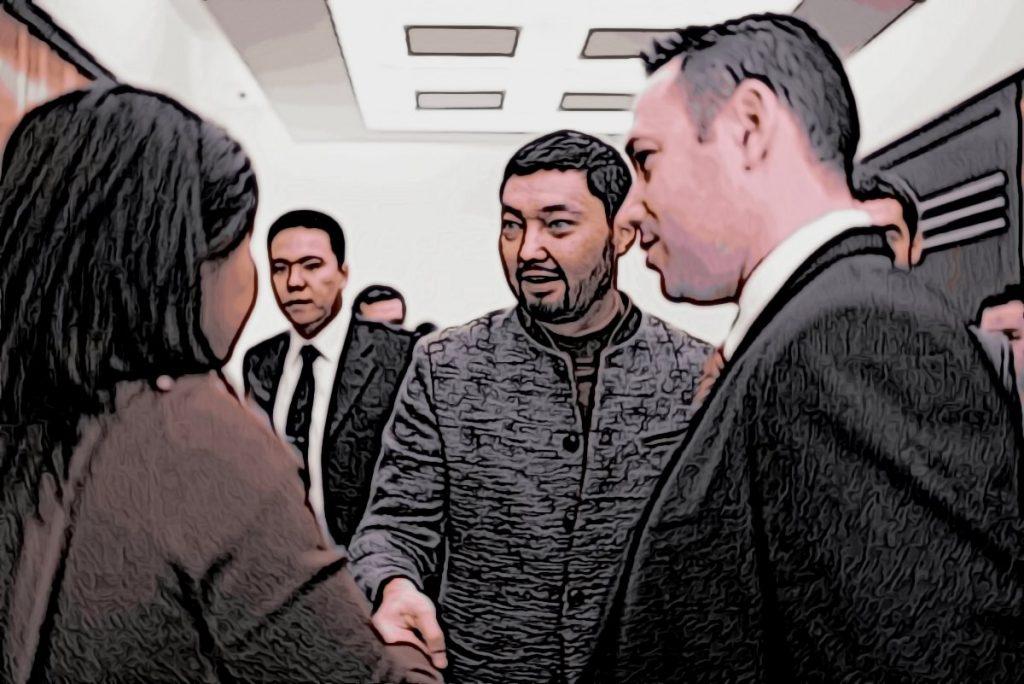 Встречи Кенеса Ракишева