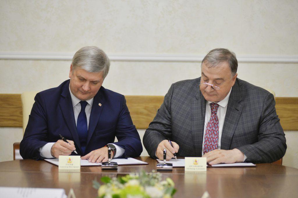 Александр Гусев и Абубакар Арсамаков